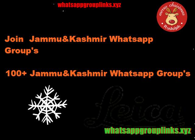 Join Jammu Kashmir Whatsapp Group links