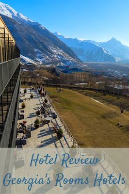 Travel the World: Review of Georgia (the country)'s Rooms Hotel Kazbegi and Rooms Hotel Tbilisi.