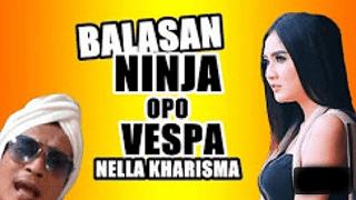 Lirik Lagu Balasan Ninja Opo Vespa - Nella Kharisma