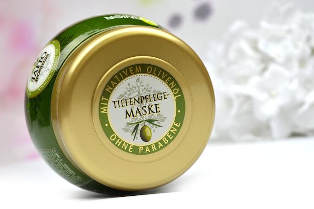 Garnier Wahre Schätze Mythische Olive Tiefenpflege Maske | Deckel