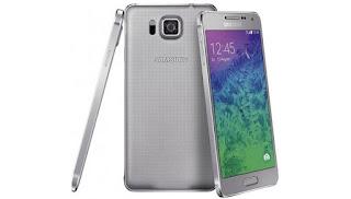 Мобильный телефон Samsung Galaxy Alpha SM-G850F 32Gb Silver