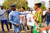 Isabella Okafor Donates Campaign T-shirt To Uche Nwosu