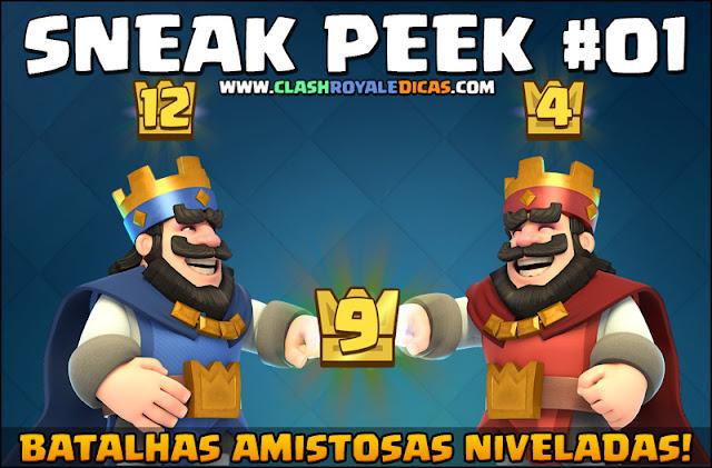 Sneak Peek #1 - Batalhas amistosas niveladas... - 1