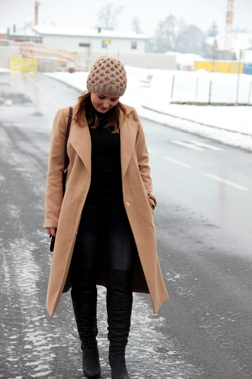 Hellbrauner mantel