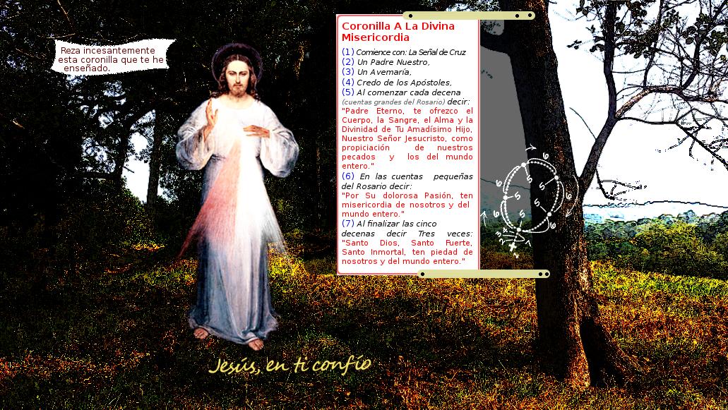 la coronilla a la diviana misericordia