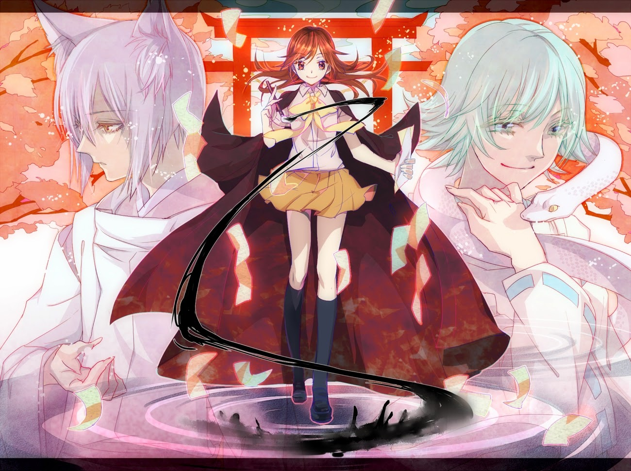 Картинки из аниме очень приятно бог