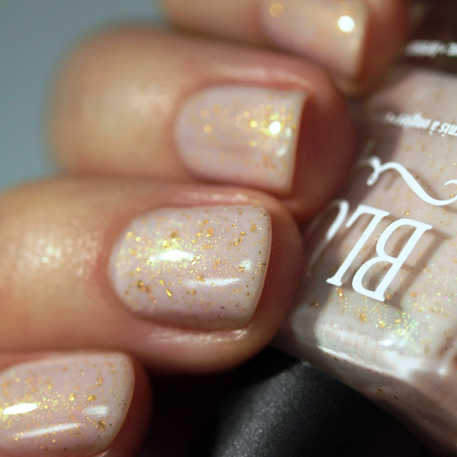 BLUSH Lacquers Princessa swatch by Streets Ahead Style