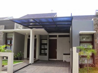 [Terbaru] 15 Desain Istimewa Kanopi Rumah Minimalis 2019 3