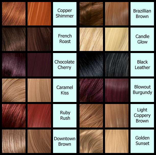 Brown Hair Dye Color Names Hair Color Highlighting And
