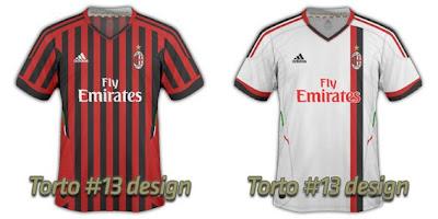Gambar Kostum Baru AC Milan 2016