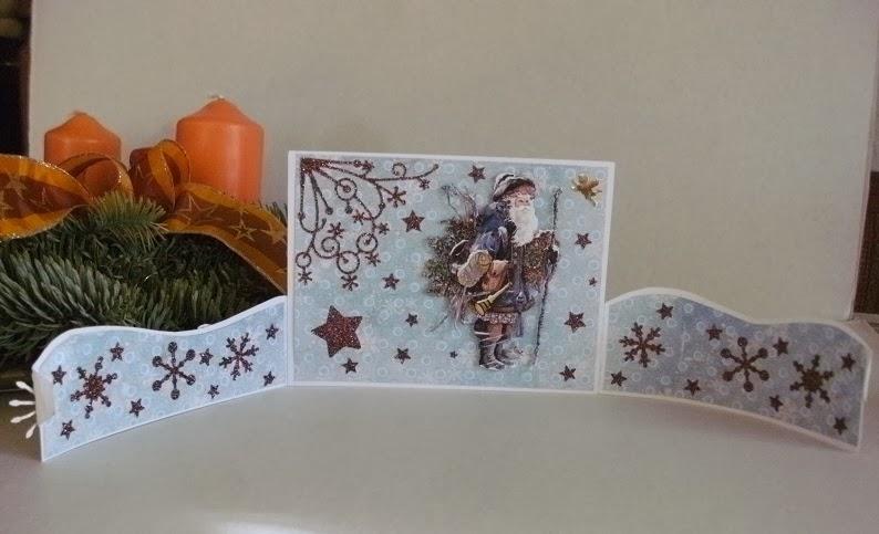 gruschloma kreativ weihnachtskarten besondere form. Black Bedroom Furniture Sets. Home Design Ideas