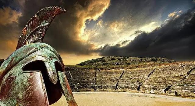 Η Ελληνική Παλαιστίνη,Έλληνες Μυκηναϊκής καταγωγής