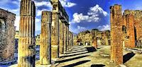 Scavi di Pompei: furto borchia di bronzo del VI A.C