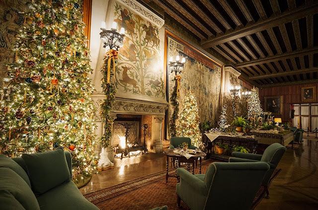 Beautiful Biltmore Estate at Christmas