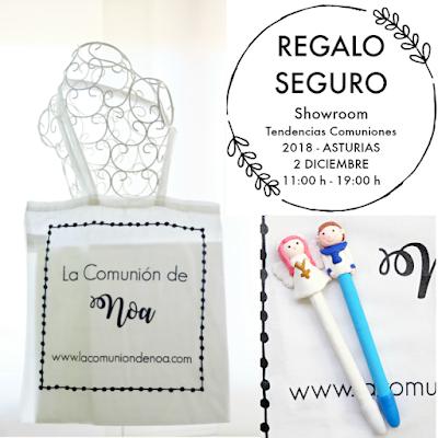 showroom tendencias comuniones 2018 asturias la comunion de noa