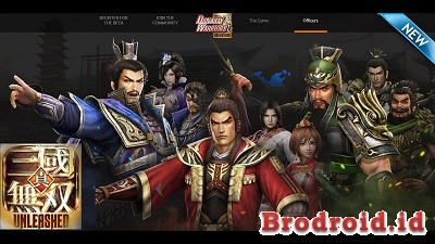 Download Dynasty Warriors: Unleashed Apk v1.0.0.5 Terbaru High Attack + High Defense
