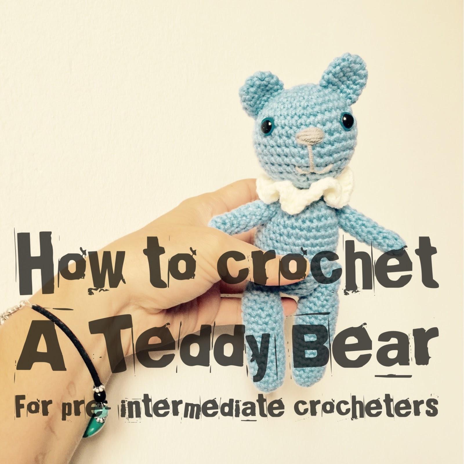 Little Teddy Bear. Free pattern !! - Julio Toys | Crochet patterns |  Amigurumi | 1600x1600
