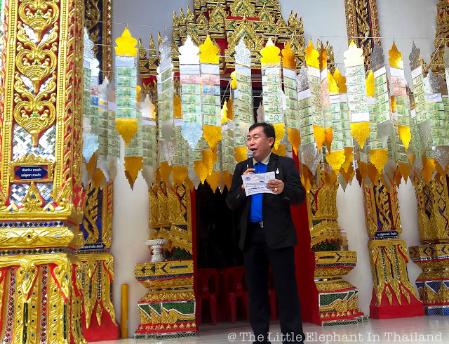 Speech at village temple in Nan - Thailand