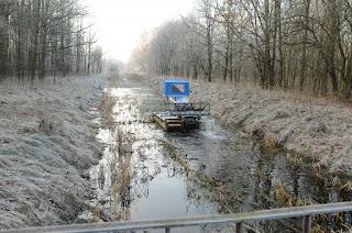 Udrażnianie kanału L9 w gminie Leoncin