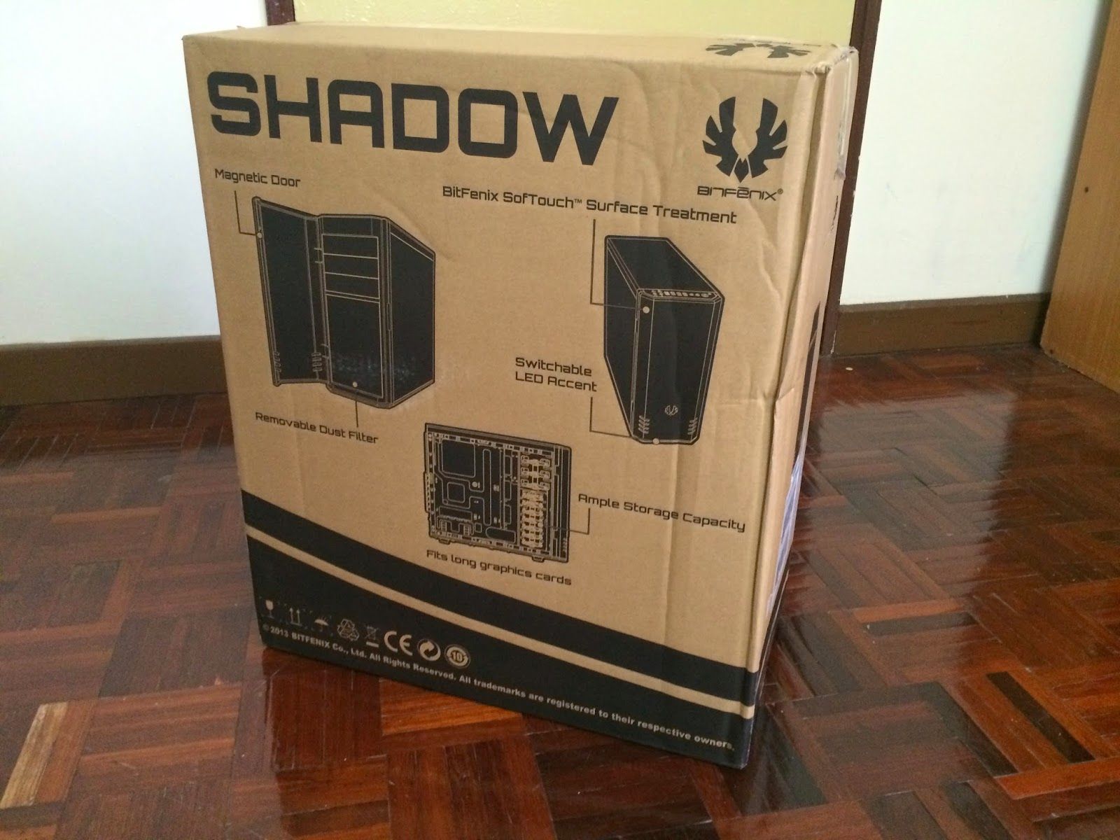 Unboxing & Review: Bitfenix Shadow 87