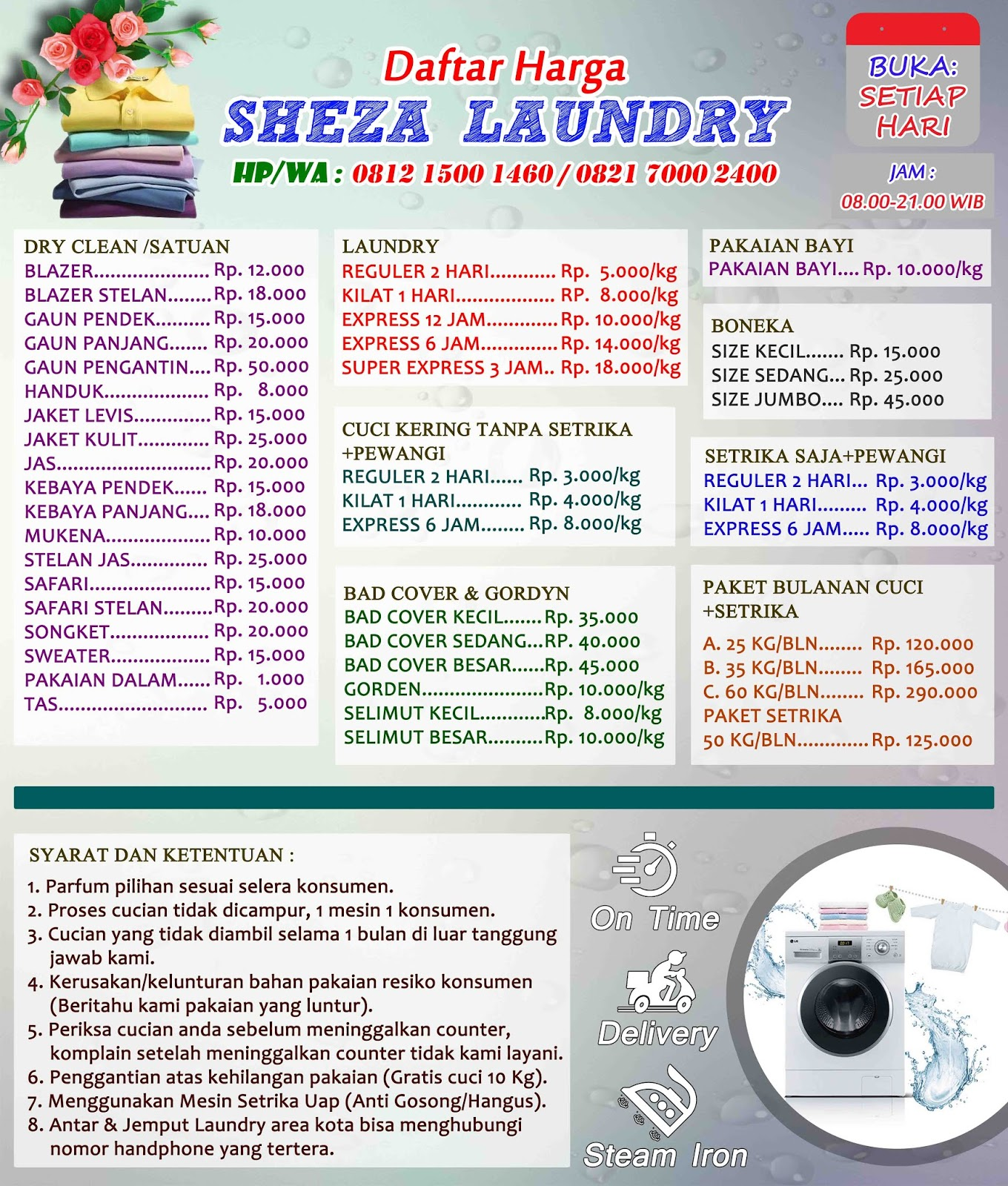 Contoh Banner Laundry Cdr Best Banner Design 2018