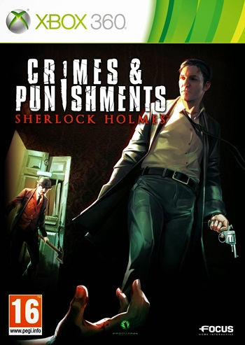 Crimes and Punishments Sherlock Holmes XBOX 360 Español RF