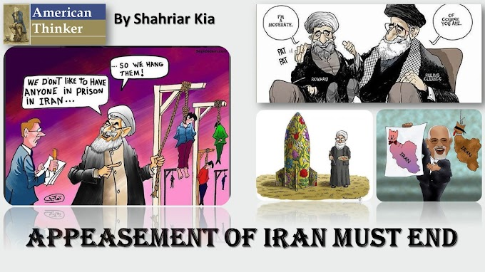 Appeasement of Iran Must End