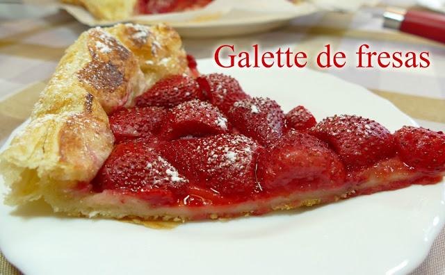 Galette de fresa