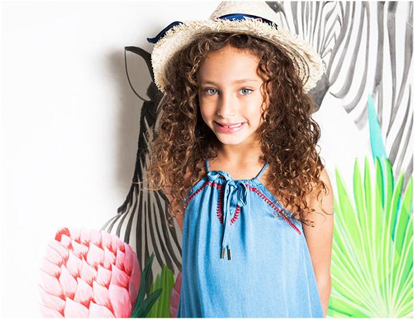 Vestidos de nenas verano 2018 ropa de moda infantil primavera verano 2018.
