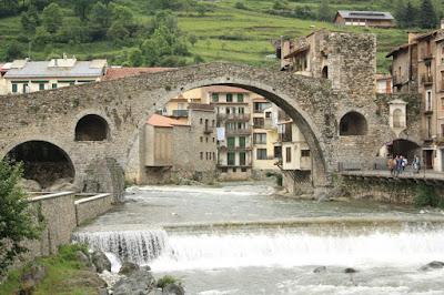 Pont Nou in Camprodón