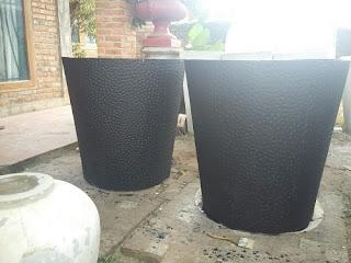 hasil gambar untuk hasil pot semen tanaman besar