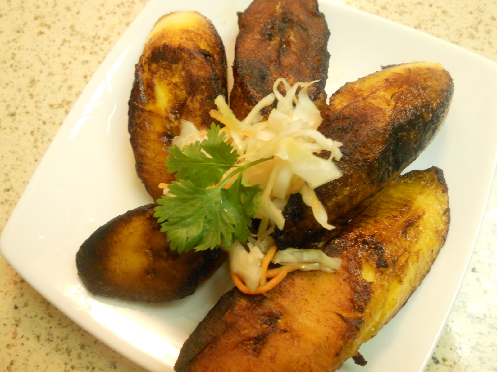 My Haitian Kitchen: Bannan Duece/Fried Sweet Plantain