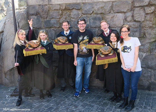 Frog Choir - Wizarding World of Harry Potter - Universal Studios Hollywood