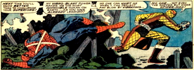 Amazing Spider-Man #46, john romita, Spidey defeated by the shocker and left unconscious