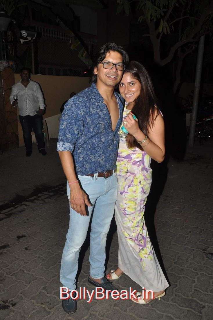 Shaan and Radhika, Celebs  at Karim Morani's Birthday Bash