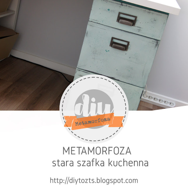METAMORFOZA – STARA SZAFKA KUCHENNA