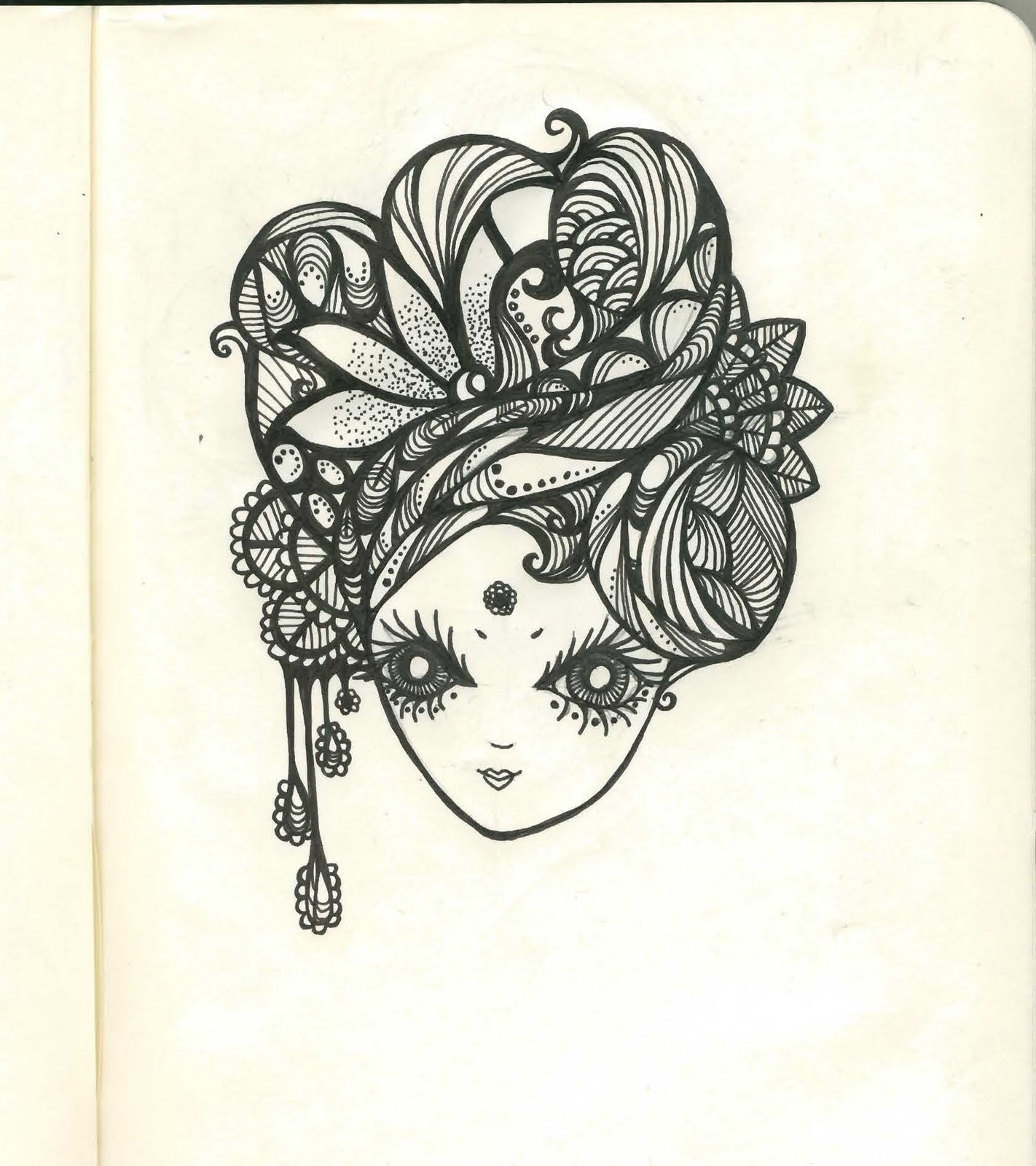 Grace Firmansjah: Pretty Faces Drawings (Sketchbook Edition
