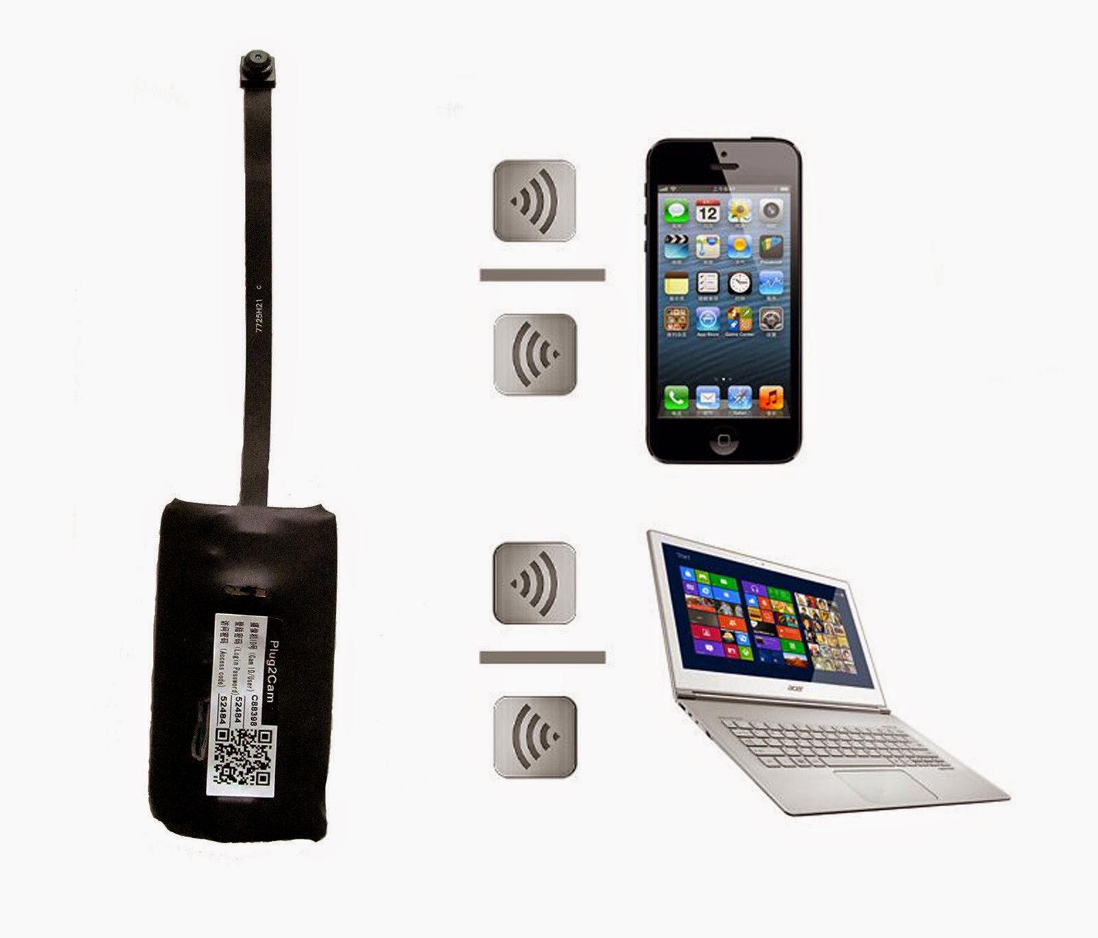Mini Wifi Spy Remote Cam CCTV IP Wireless Surveillance ... |Wireless Spy Cameras For Computers