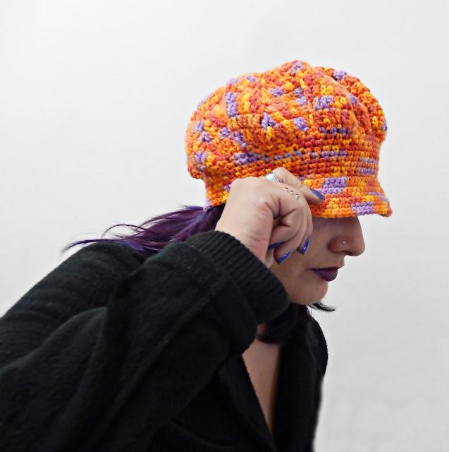 aba de croche para boina chapéu gorro touca boné aprender croche curso de croche edinir