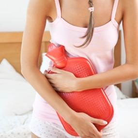 cuello uterino después del período doloroso hinchazón del dolor pélvico
