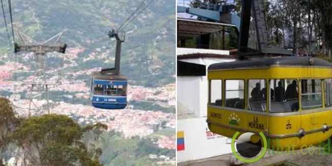 Merida, Mobil kabel tertinggi di dunia (Venezuela)