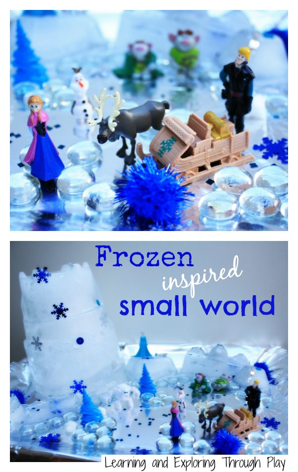 Learning And Exploring Through Play Frozen Inspired Ice