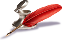"""Feather Quill Pen""Quill And Ink Png"