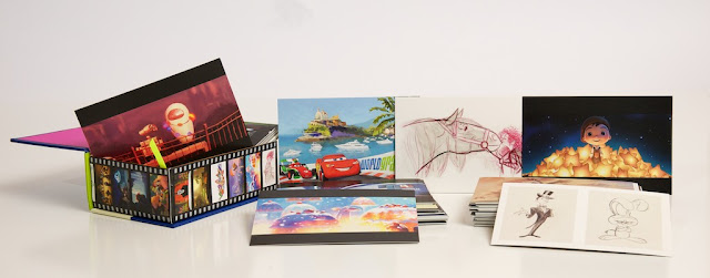 Art of Pixar Volume II Post Card Set