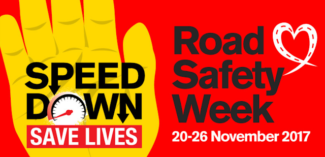 Speed Down Save Lives, Brake, Road Safety Week 2017