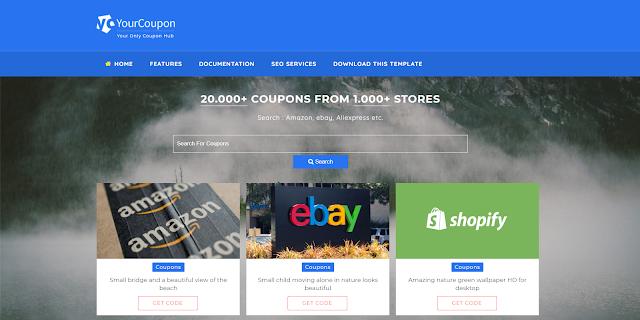 szablony Blogspot e-commerce
