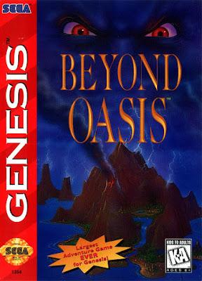 Rom de Beyond Oasis - Mega Drive - PT-BR