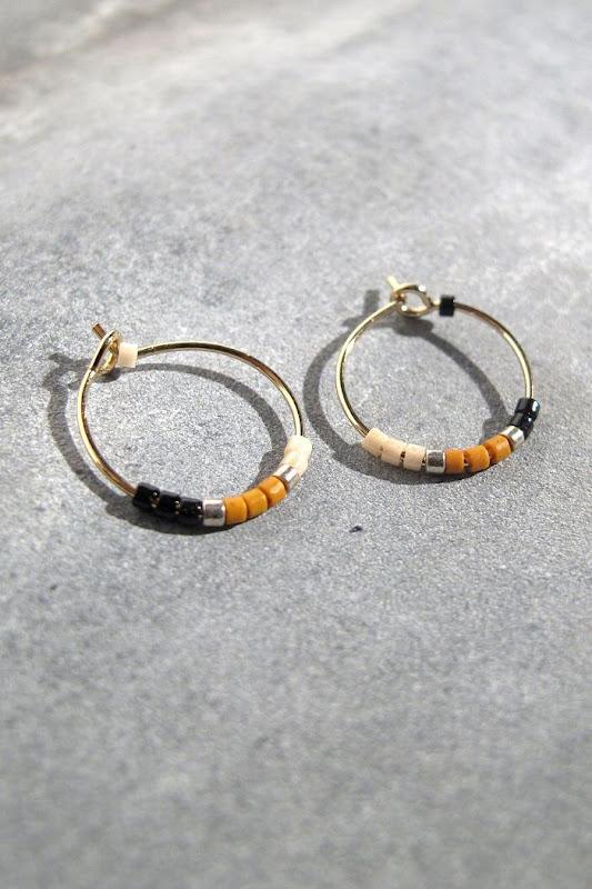 Créoles perlées Tassia Canellis bijoux