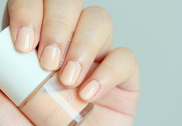 Innisfree nail polish 133 - Ballet steps