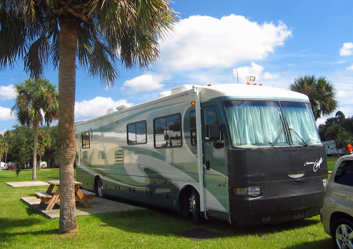 Going Rv Way Orlando Area Visiting With More Family
